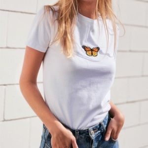 Brandy Melville Jamie Butterfly Top